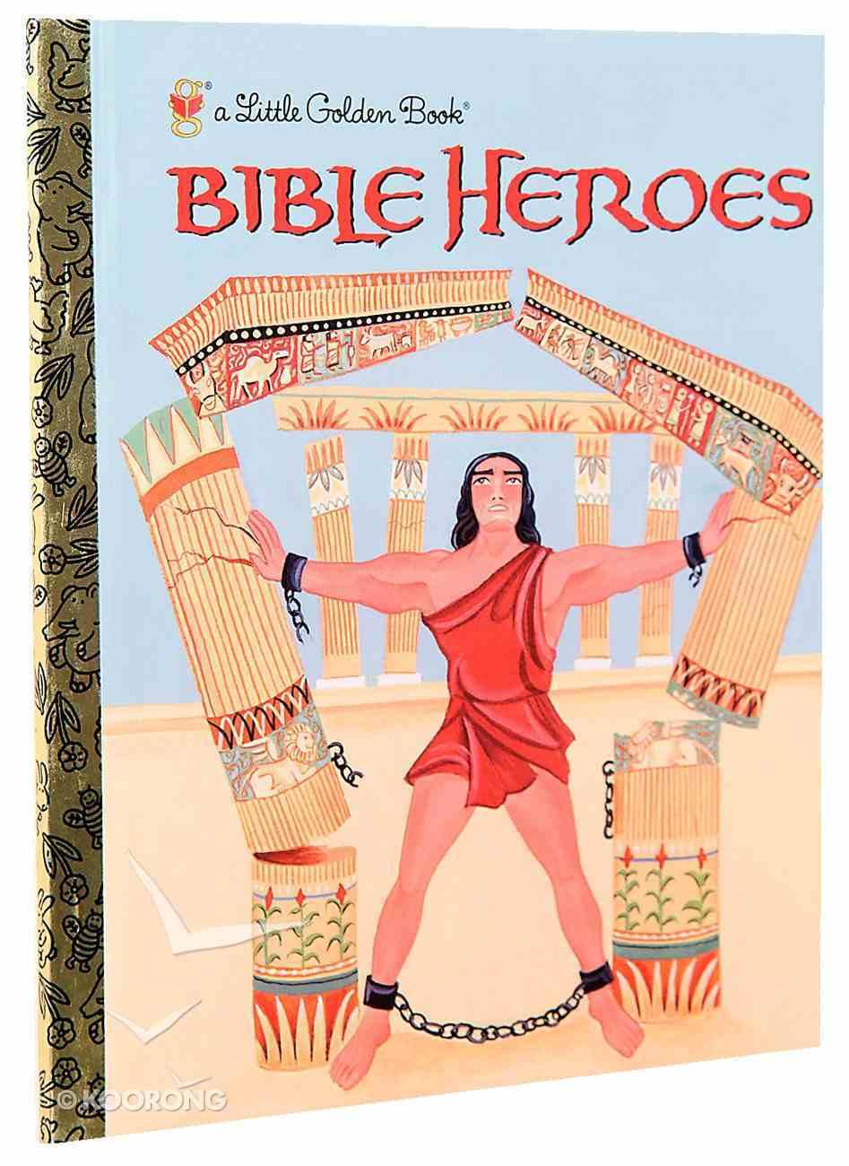 Bible Heroes (Little Golden Book Series) Hardback