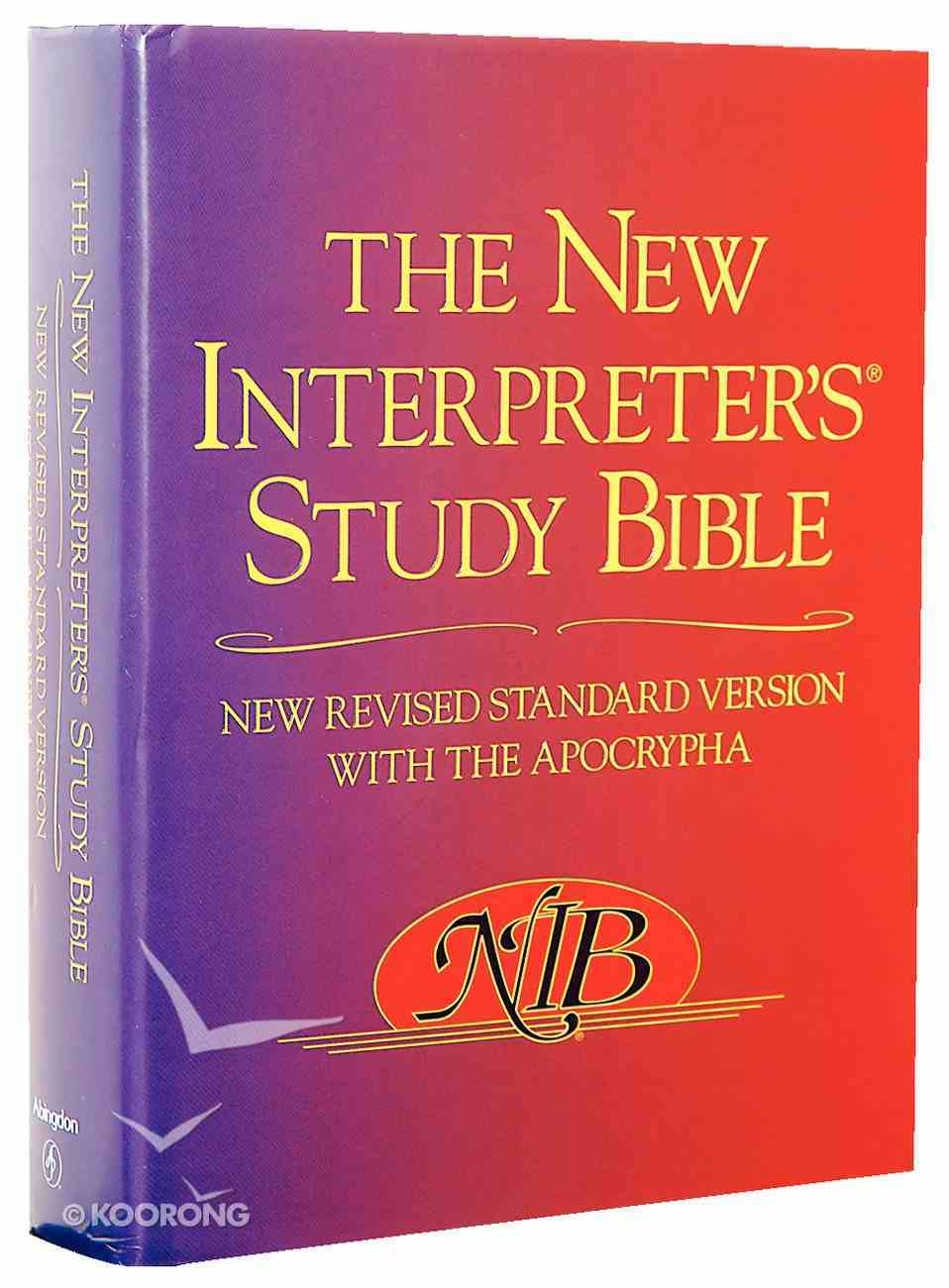 NRSV New Interpreter's Study Bible With Apocrypha Hardback