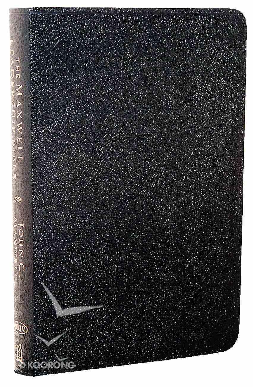 NKJV Maxwell Leadership Black (2nd Edition) Bonded Leather