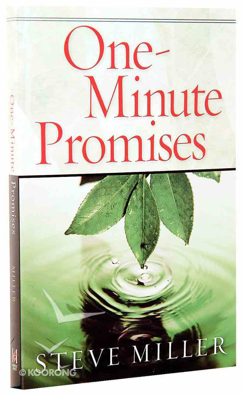 One-Minute Promises Paperback