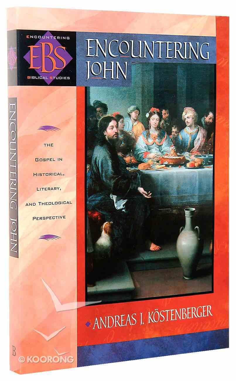 Encountering John (Encountering Biblical Studies Series) Paperback