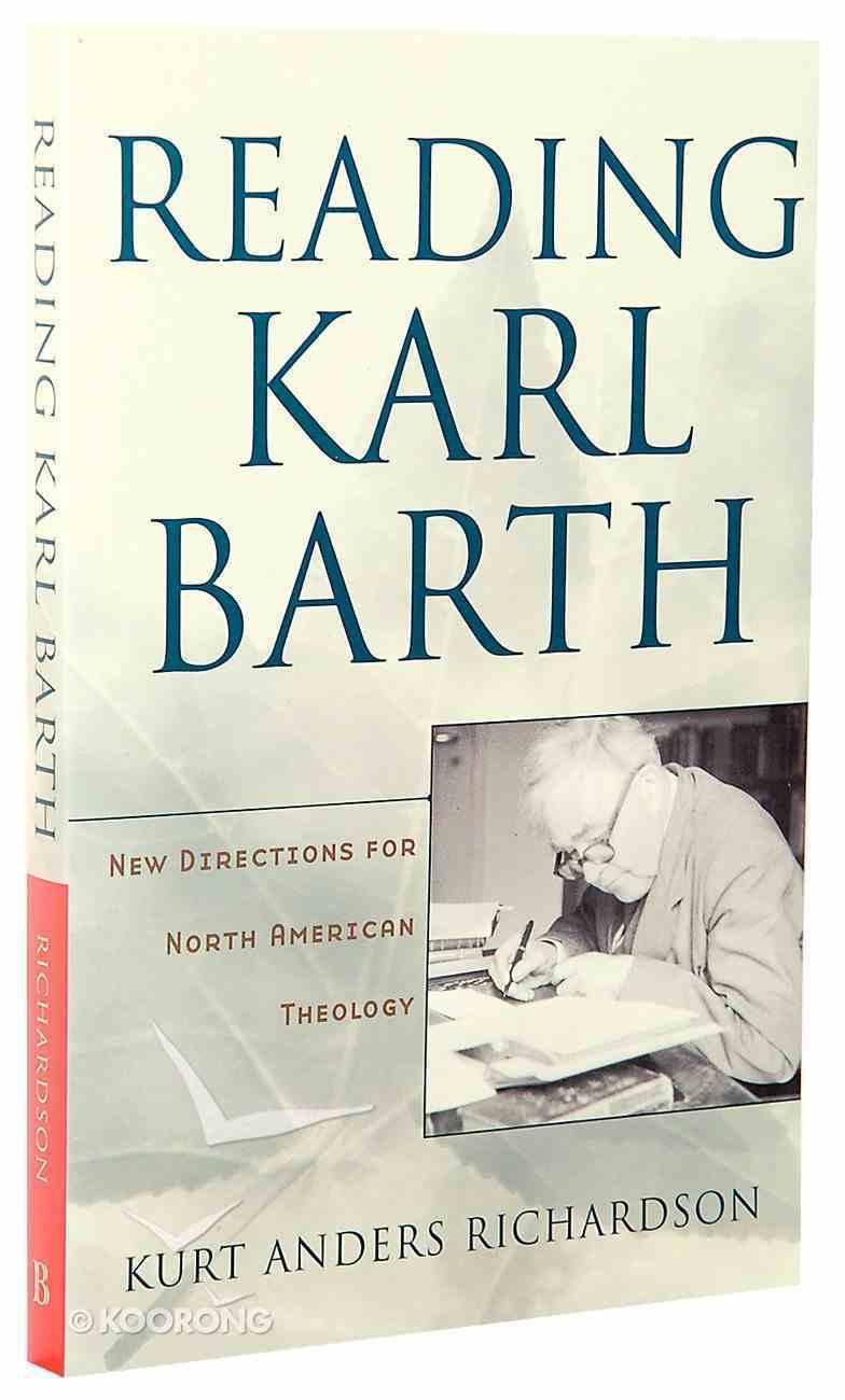 Reading Karl Barth Paperback