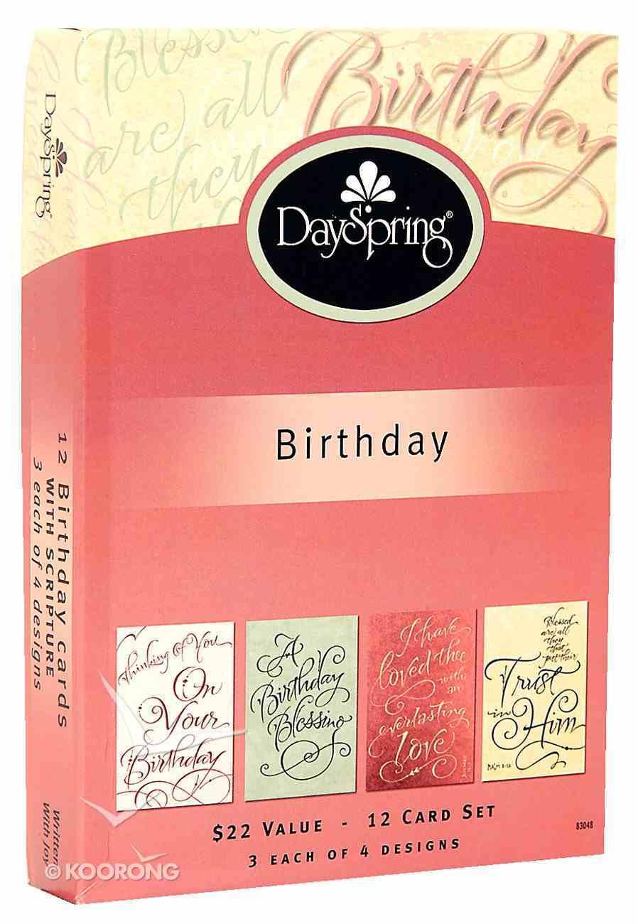 Boxed Cards Birthday: Written in Joy Box