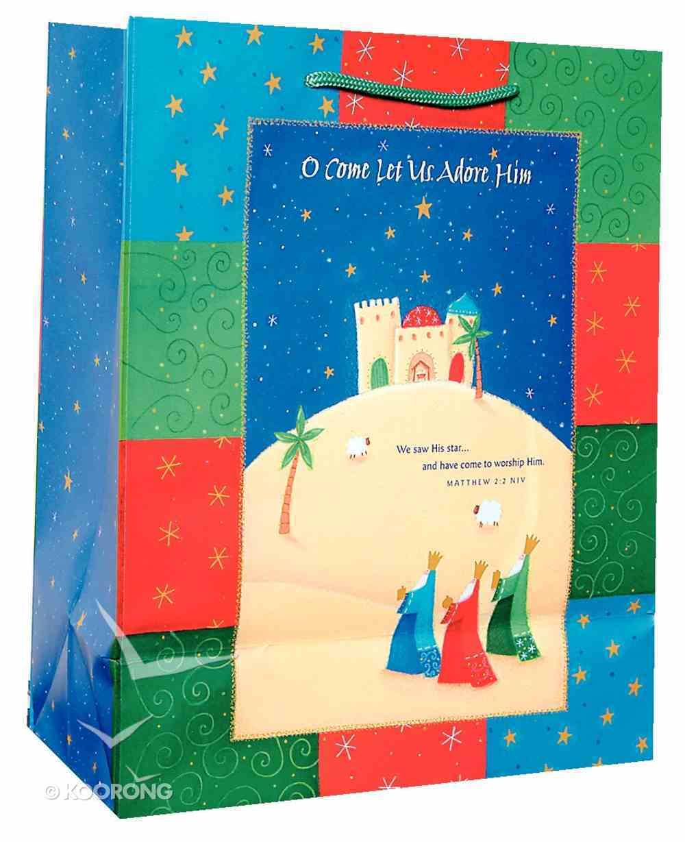 Christmas Gift Bag: Wise Men (Large) Stationery
