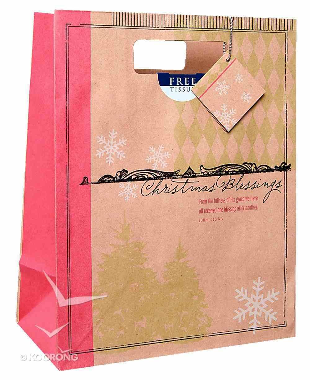 Christmas Gift Bag: Christmas Blessings (Large) Stationery