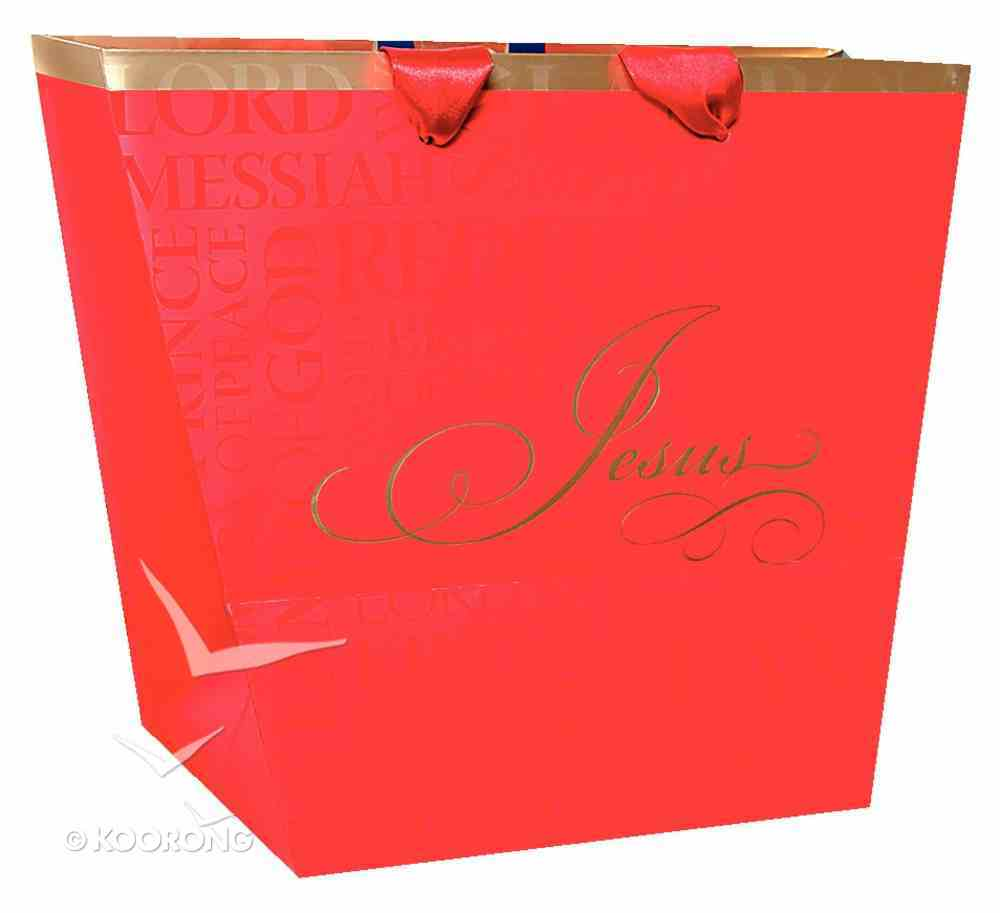 Christmas Gift Bag: Names of Jesus (Medium) Stationery