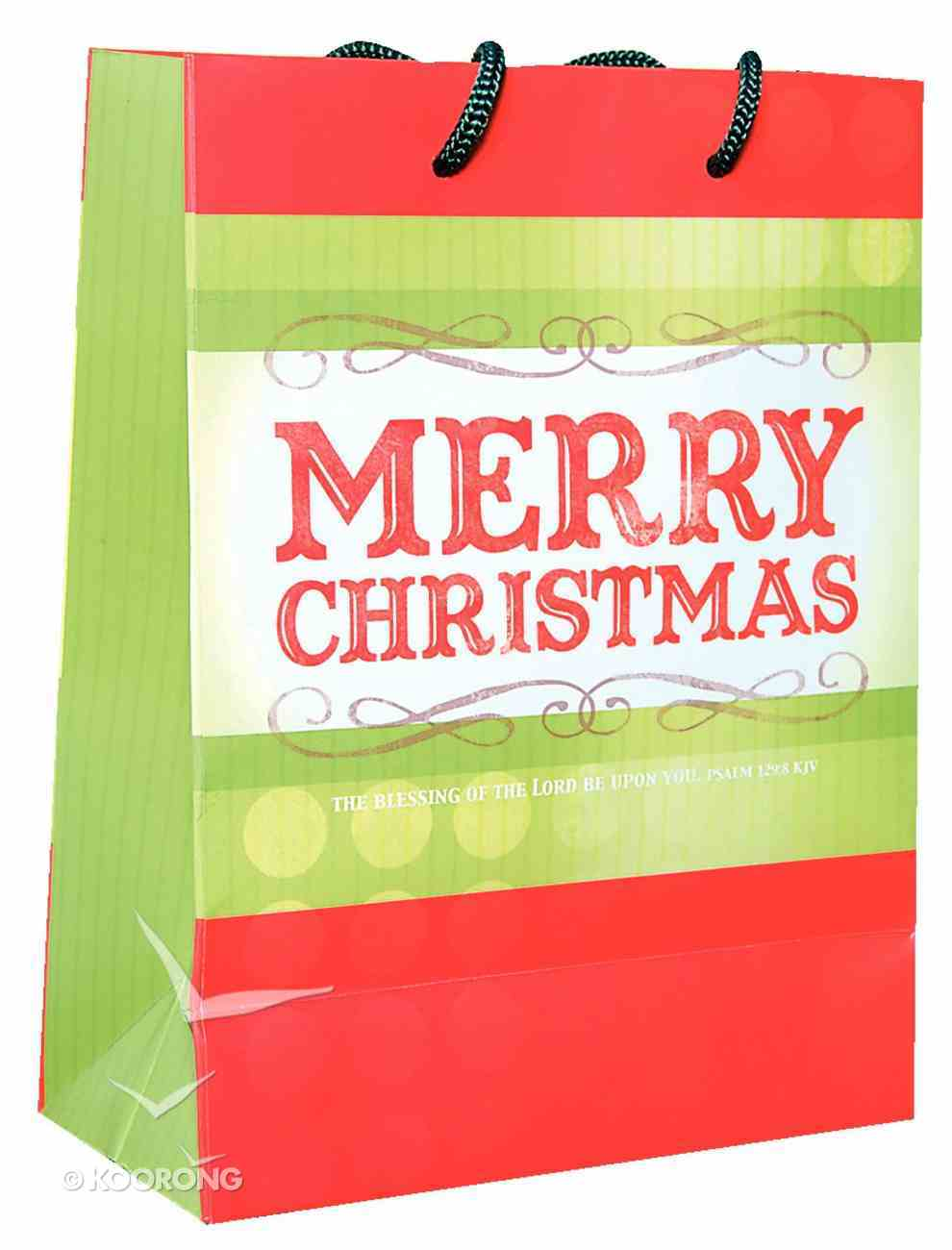 Christmas Gift Bag: Merry Christmas (Medium) Stationery