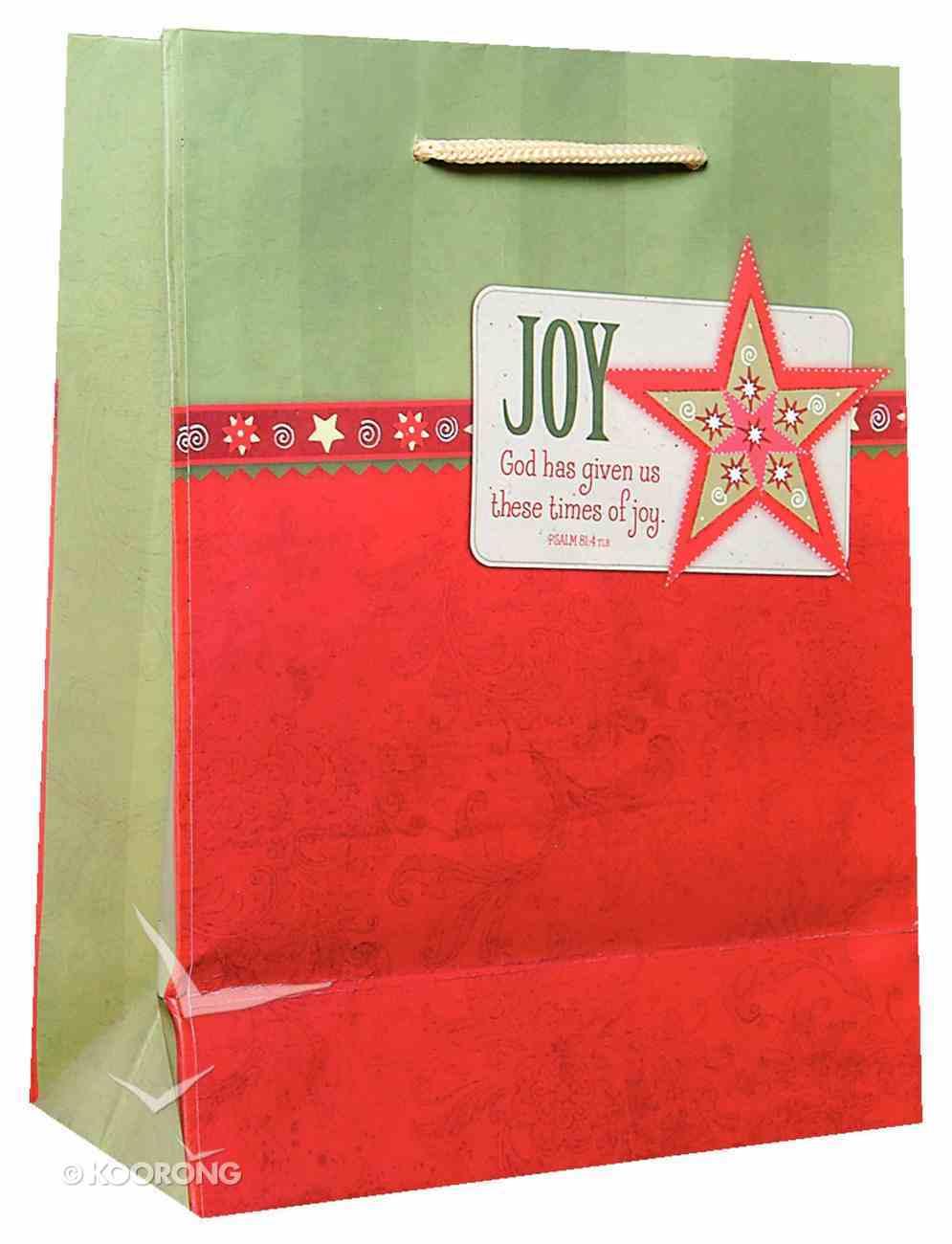 Christmas Gift Bag: Joy (Medium) Stationery