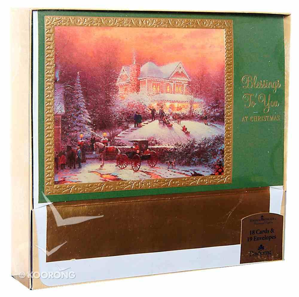 Christmas Boxed Cards: Thomas Kinkade Cards