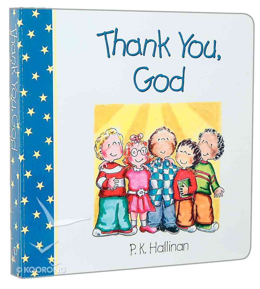 Thank You, God Board Book