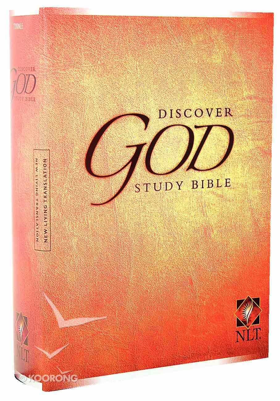 NLT Discover God Study Bible Hardback