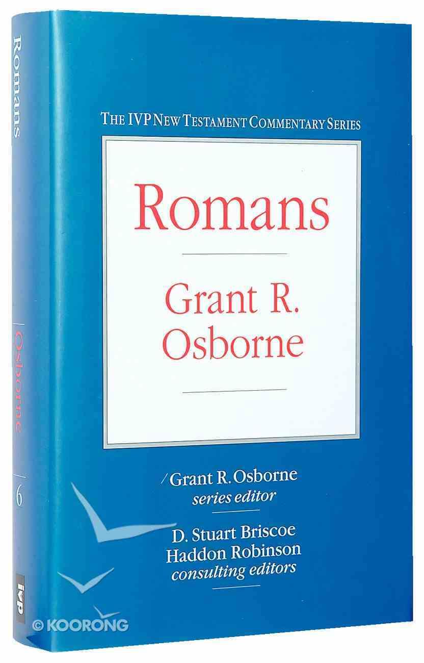 Ivp Ntc: Romans (Ivp New Testament Commentary Series) Hardback