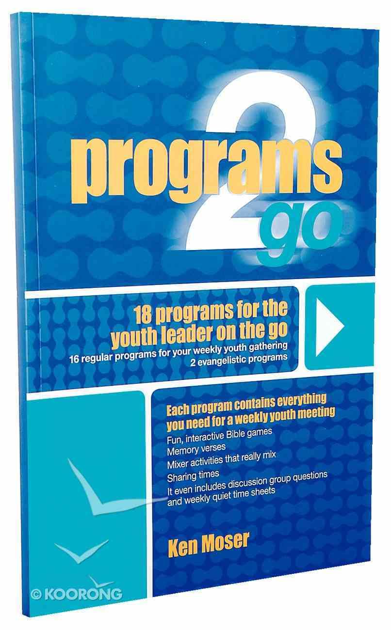 Programs 2 Go (Reproducible) (Studies 2 Go Series) Paperback