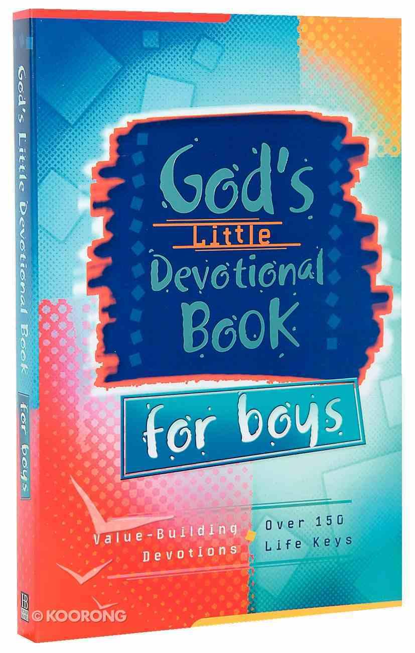 God's Little Devotional Book For Boys Paperback