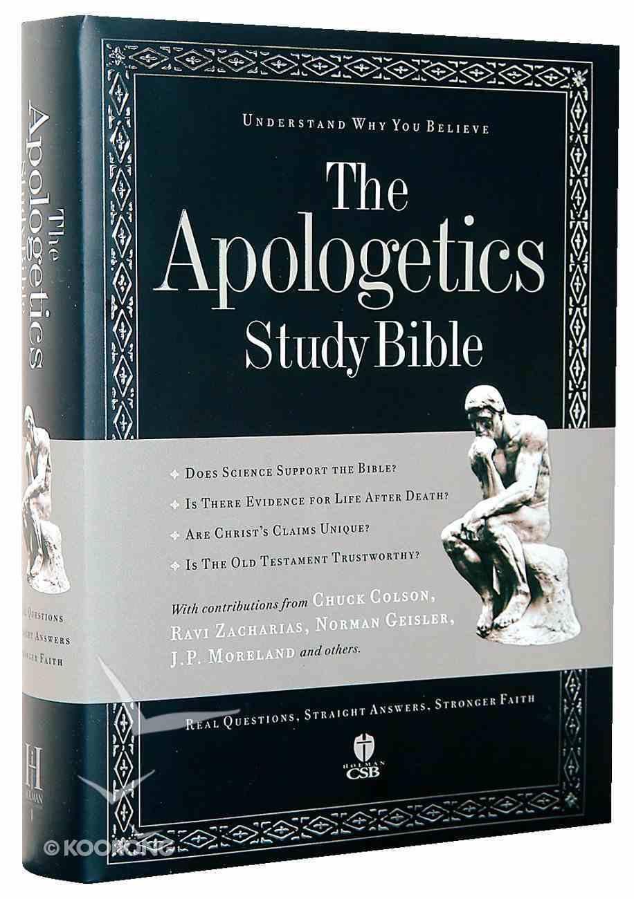 HCSB Apologetics Study Bible Hardback