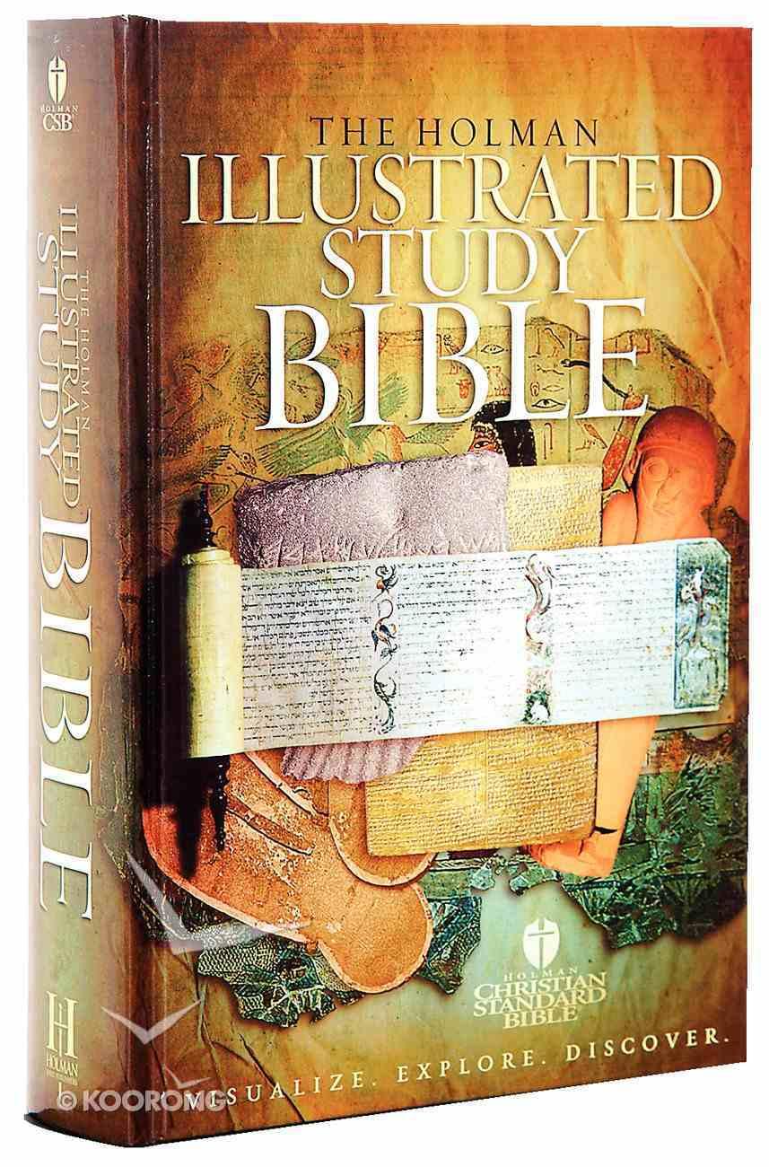 HCSB Illustrated Study Bible Hardback