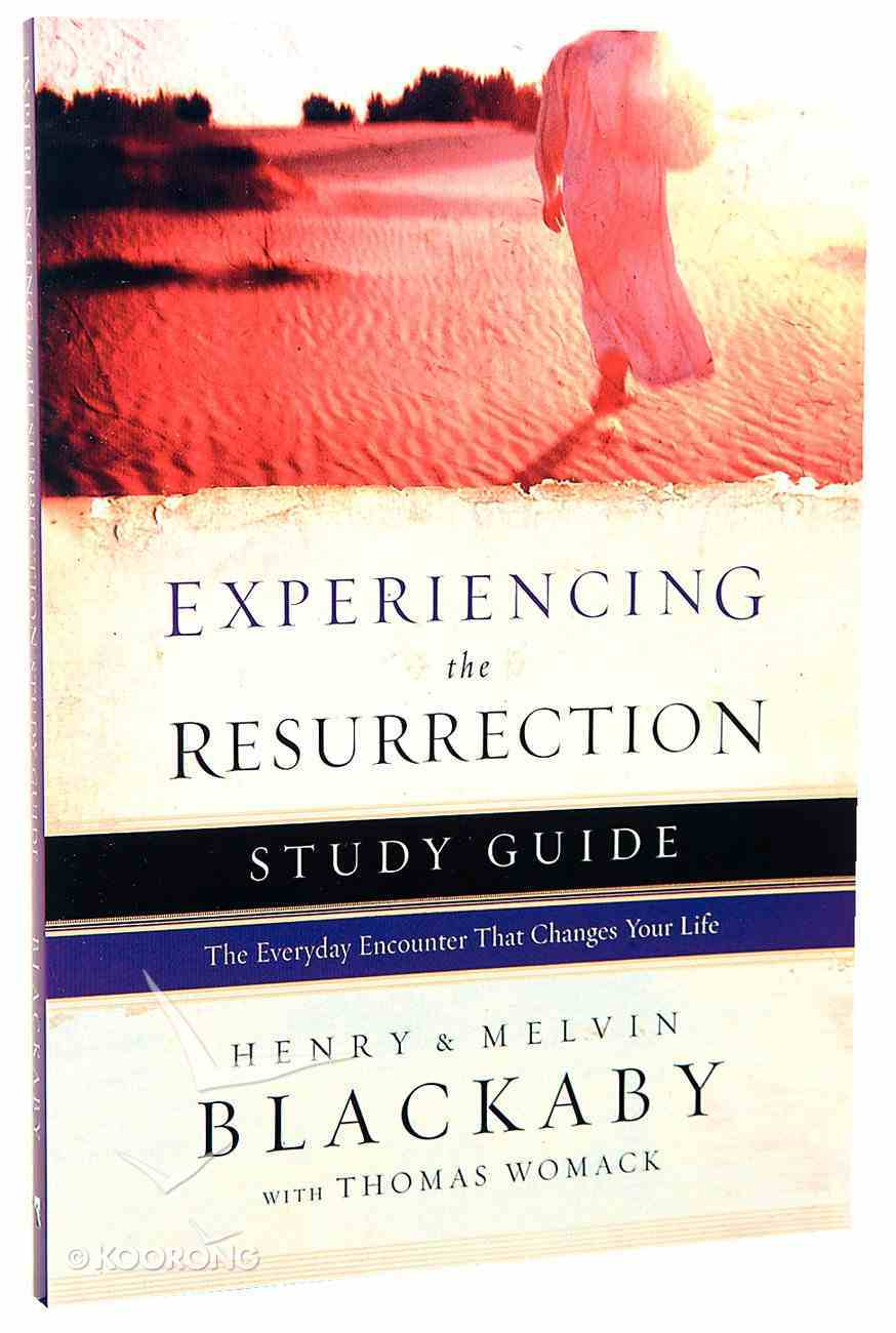 Experiencing the Resurrection (Study Guide) Paperback