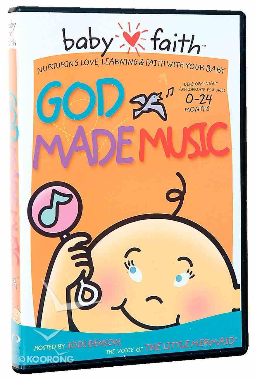 God Made Music (Baby Faith Series) DVD
