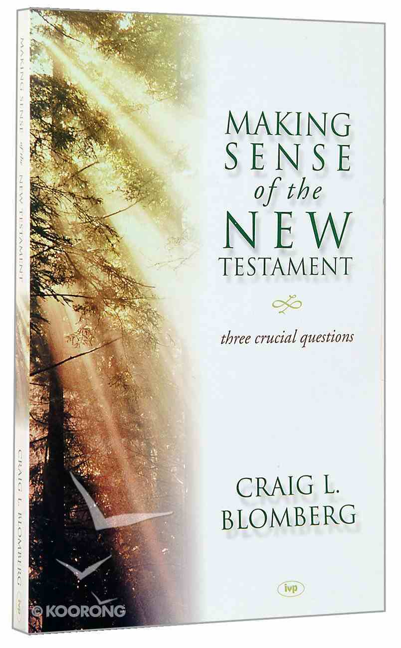 Making Sense of the New Testament Paperback