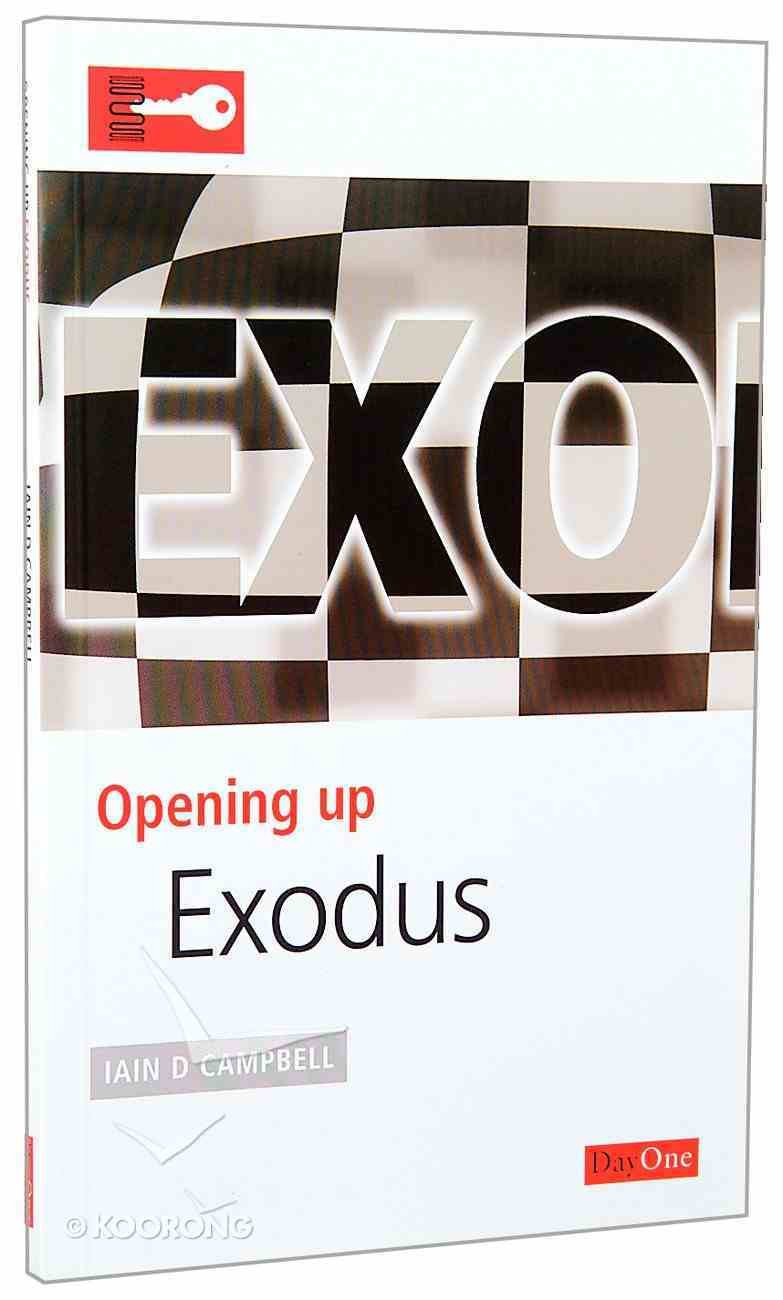 Exodus (Opening Up Series) Paperback