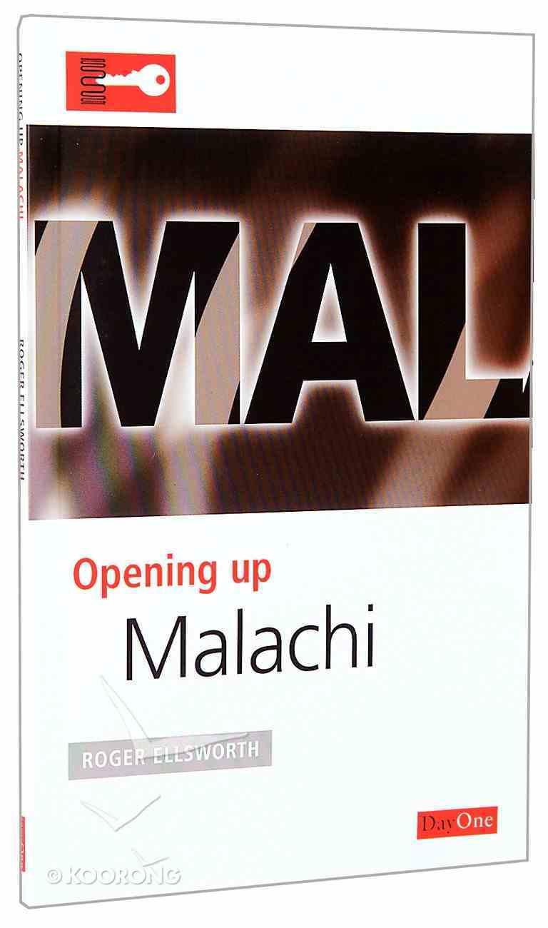 Malachi (Opening Up Series) Paperback