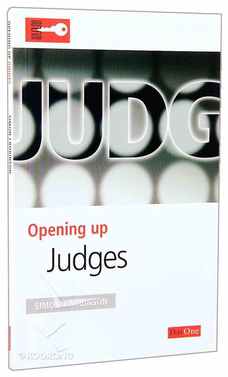 Judges (Opening Up Series) Paperback