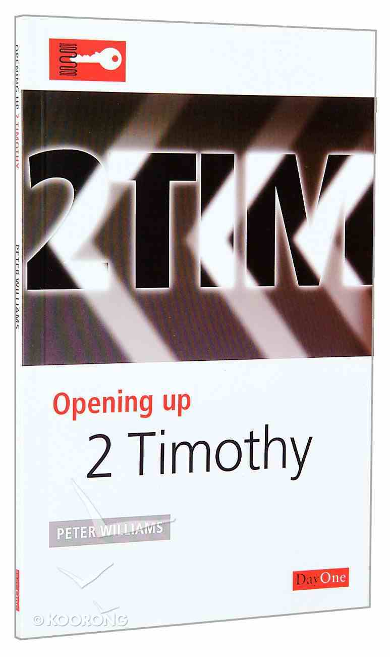 2 Timothy (Opening Up Series) Paperback