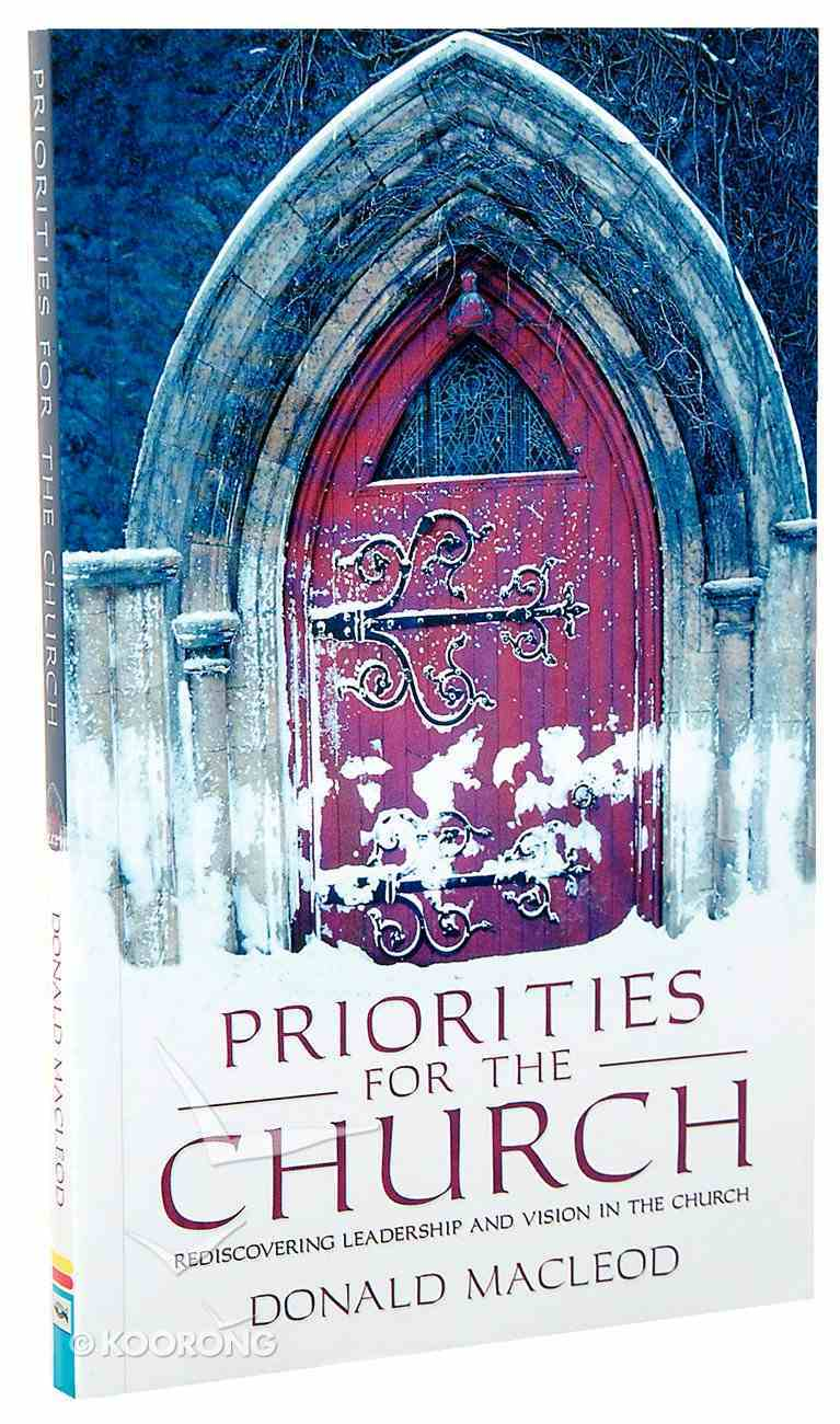 Priorities For the Church Paperback