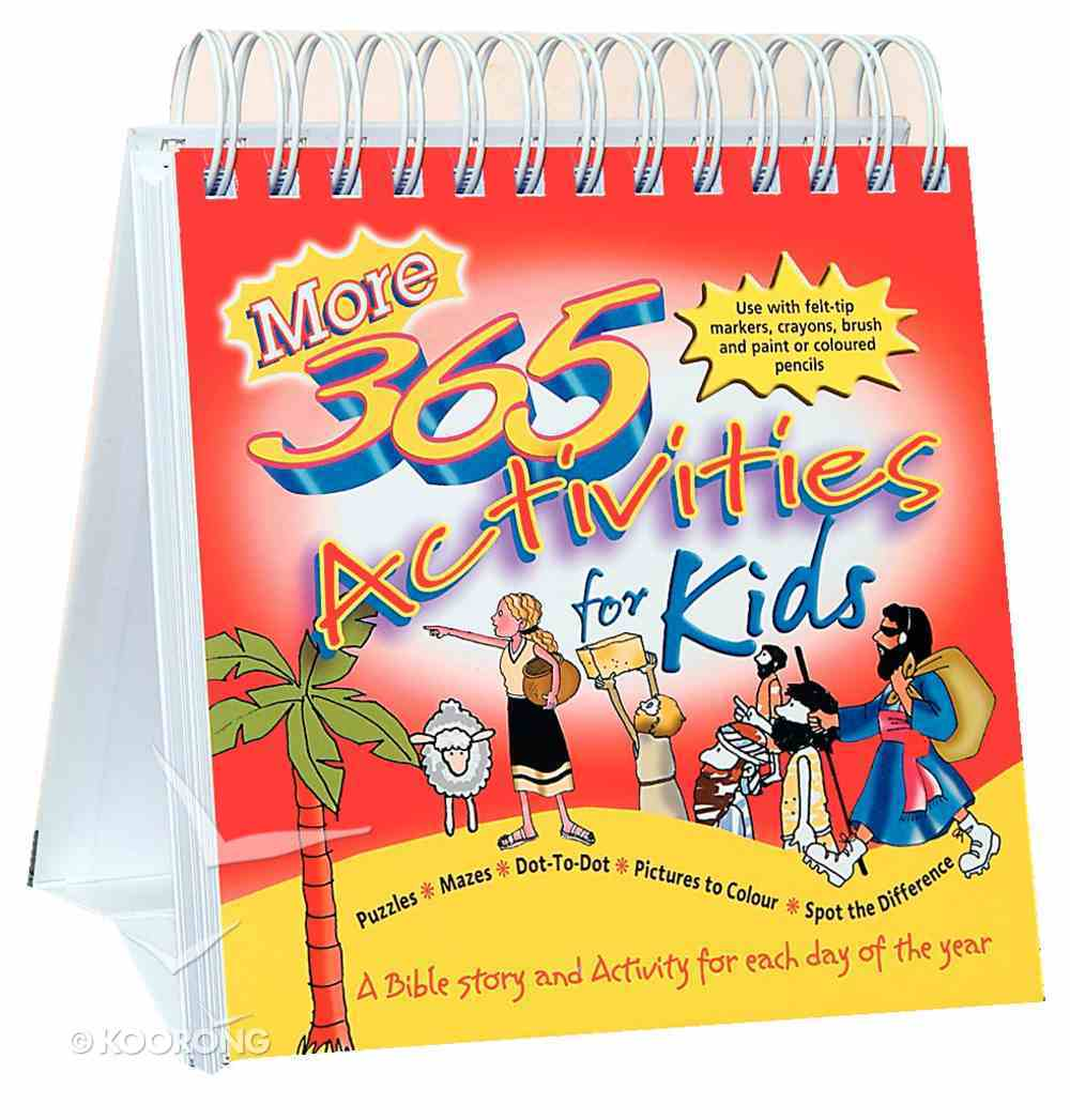 More 365 Activities For Kids Spiral