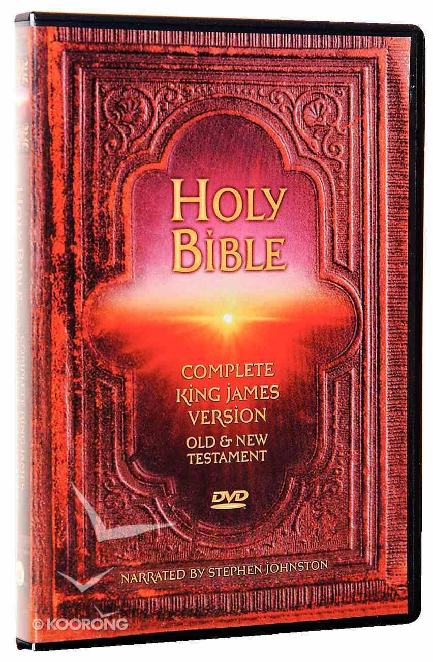 KJV DVD Complete Bible DVD