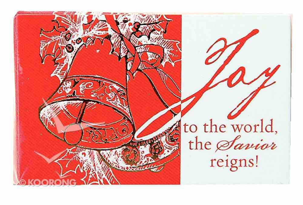 Joy to the World (Pass It On Cards Series) Cards