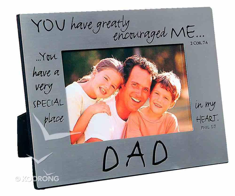 Pewter Photo Frame: Dad Homeware