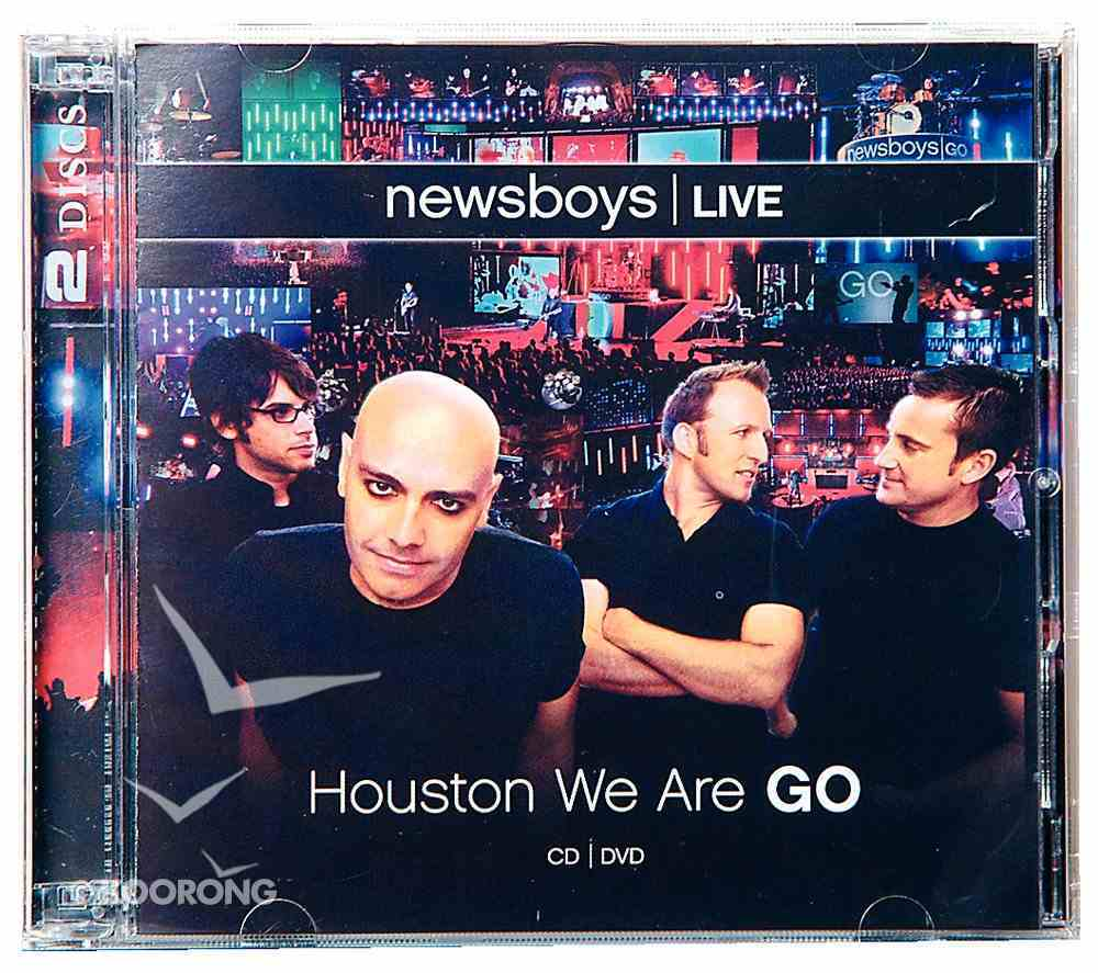 Live: Houston We Are Go (Cd And Dvd) CD