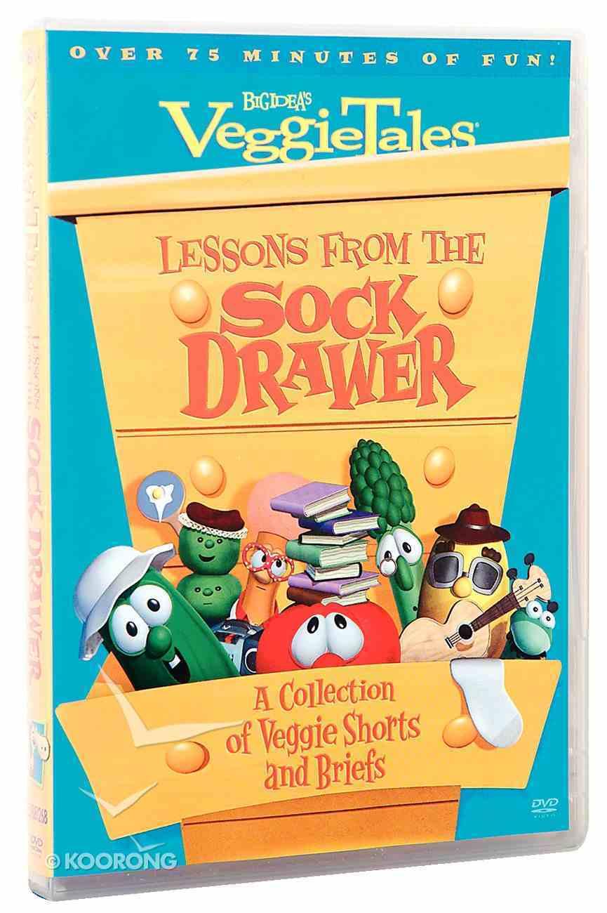 Veggie Tales #32: Lessons From the Sock Drawer (#032 in Veggie Tales Visual Series (Veggietales)) DVD