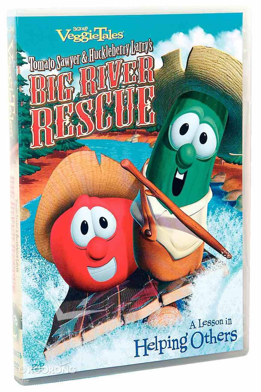 Veggie Tales #33: Tomato Sawyer & Huckleberry Larry's Big River Rescue (#033 in Veggie Tales Visual Series (Veggietales)) DVD