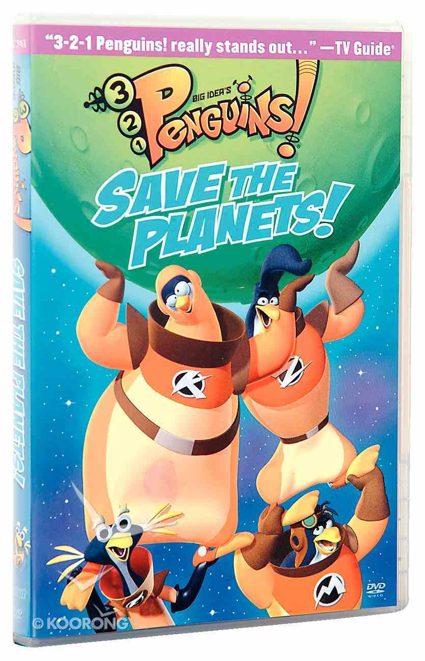 Save the Planet (#07 in 3-2-1 Penguins Video Series) DVD
