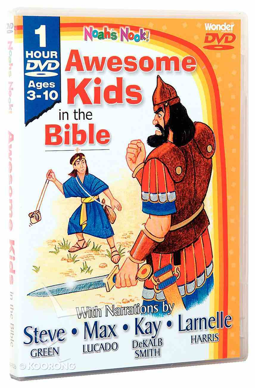 Awesome Kids in the Bible DVD