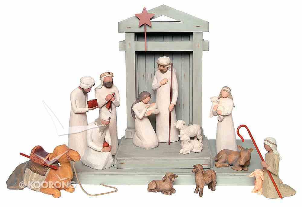Willow Tree Nativity Set Including Creche Homeware