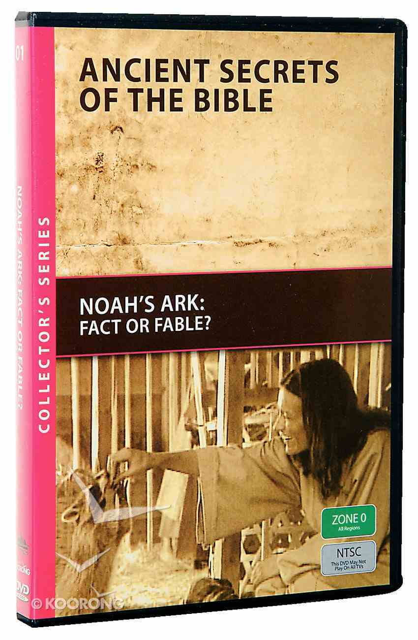 Ancient Secrets #01: Noah's Ark, Fact Or Fable? (#01 in Ancient Secrets Of The Bible Dvd Series) DVD