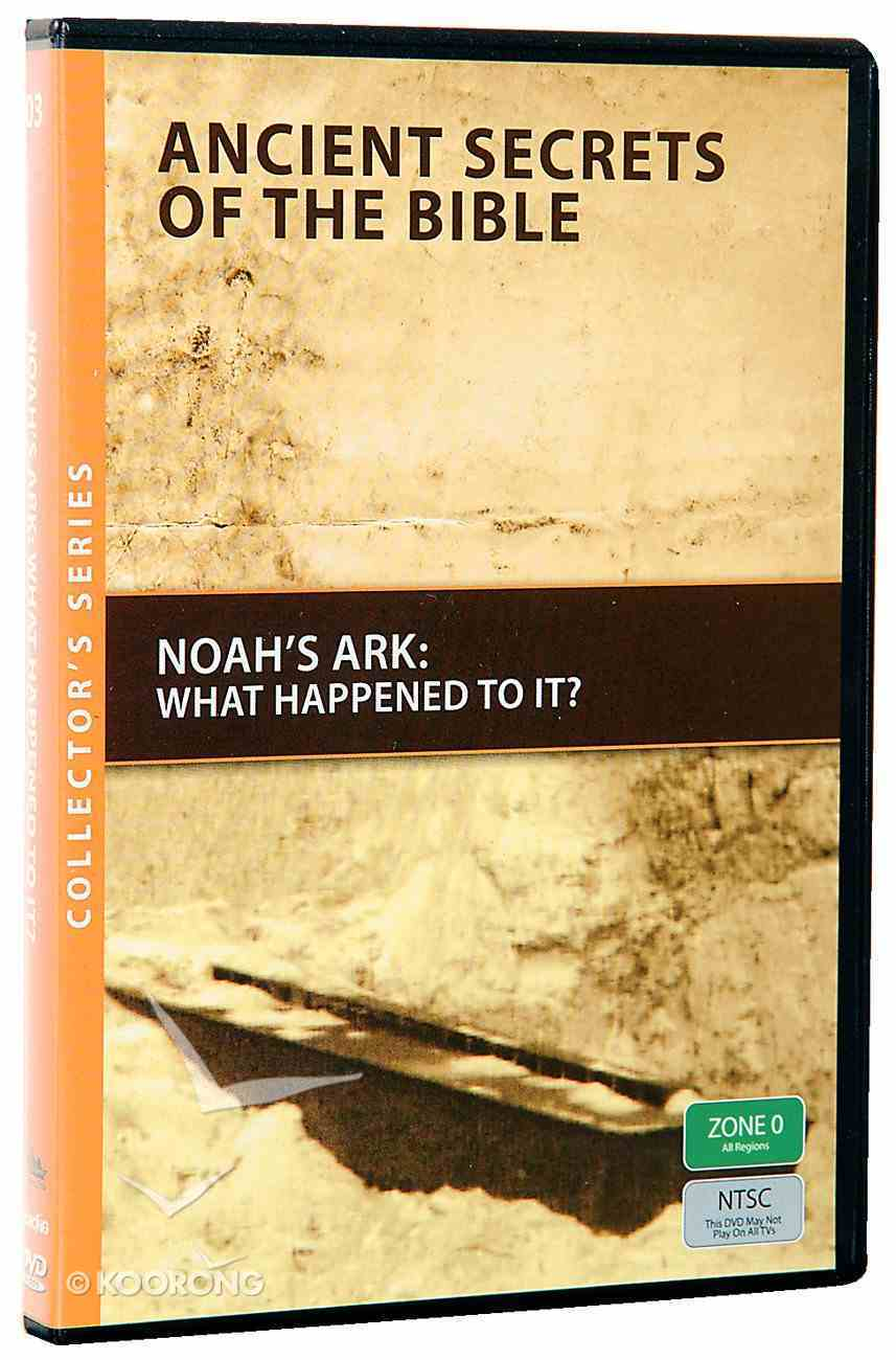 Ancient Secrets #03: Noah's Ark, What Happened to It? (#03 in Ancient Secrets Of The Bible Dvd Series) DVD