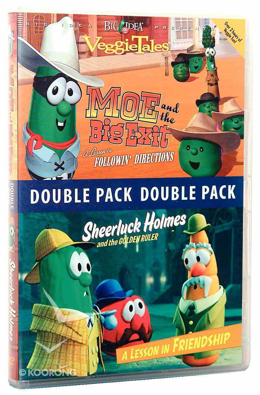 Sheerluck Holmes/Moe and the Big Exit (Veggie Tales Visual Double Feature Series) DVD