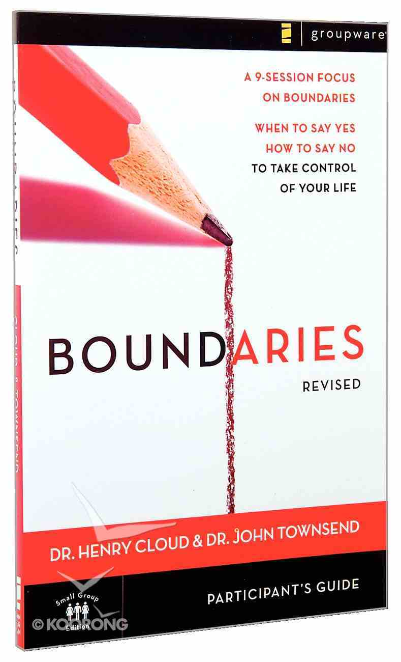 Boundaries (Participant's Guide For Dvd -) Paperback