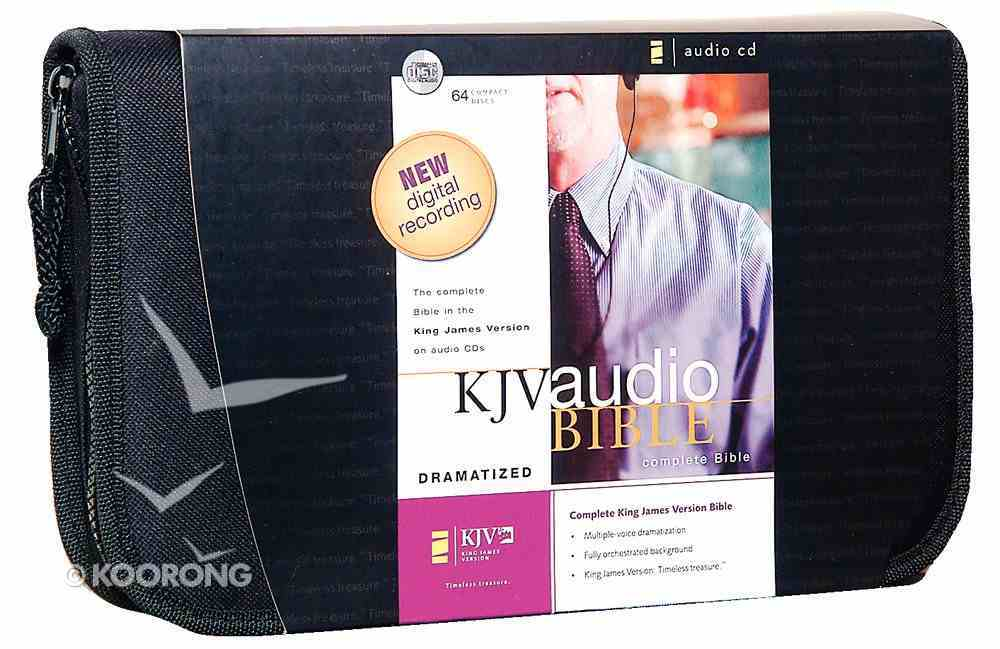KJV Audio Bible Dramatized (Unabridged 75 Hrs) CD