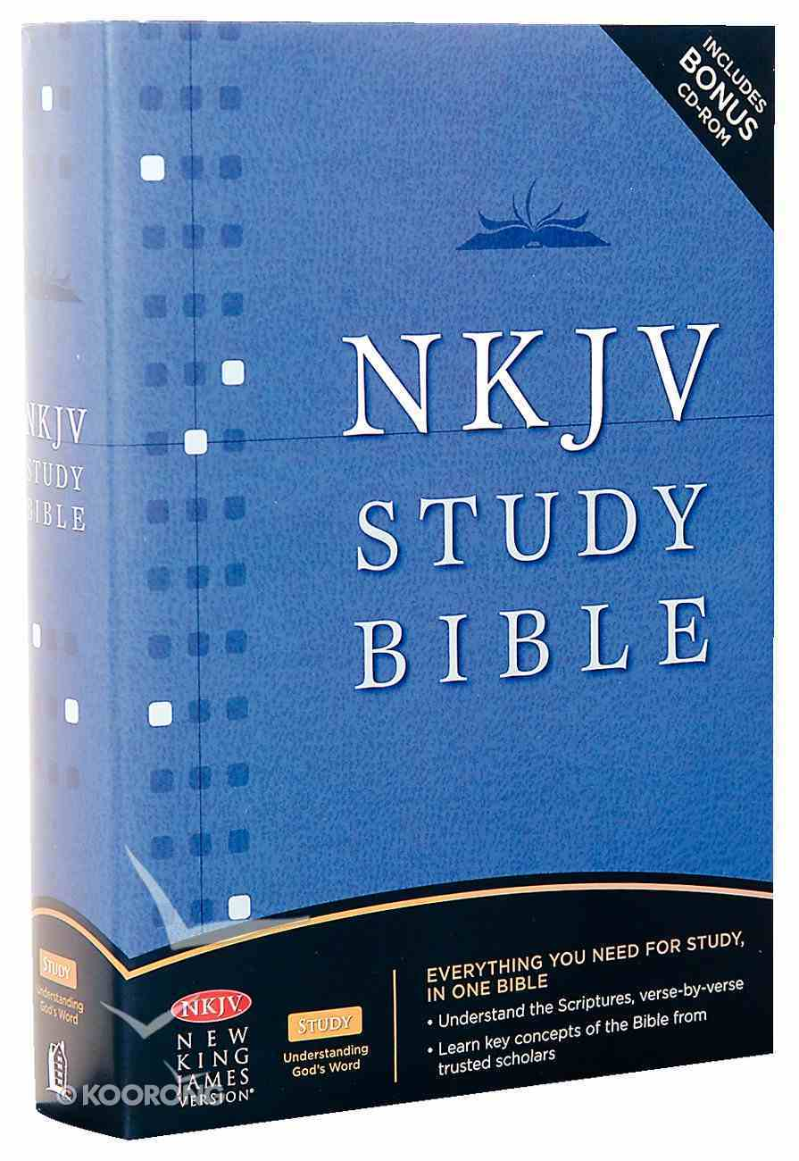 NKJV Study Bible (2nd Edition) Hardback