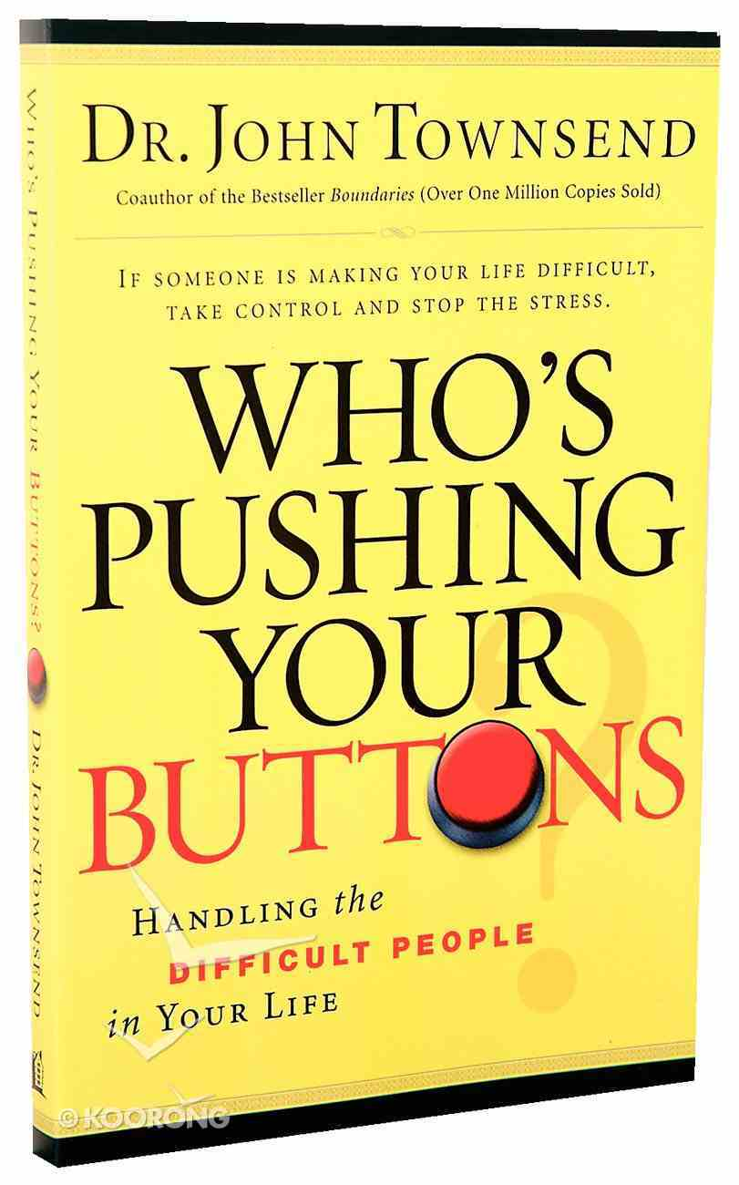 Who's Pushing Your Buttons?? Paperback