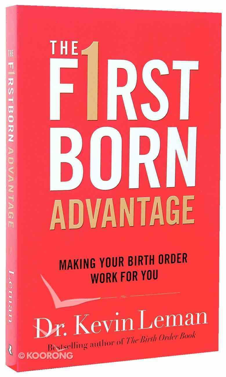The Firstborn Advantage Paperback
