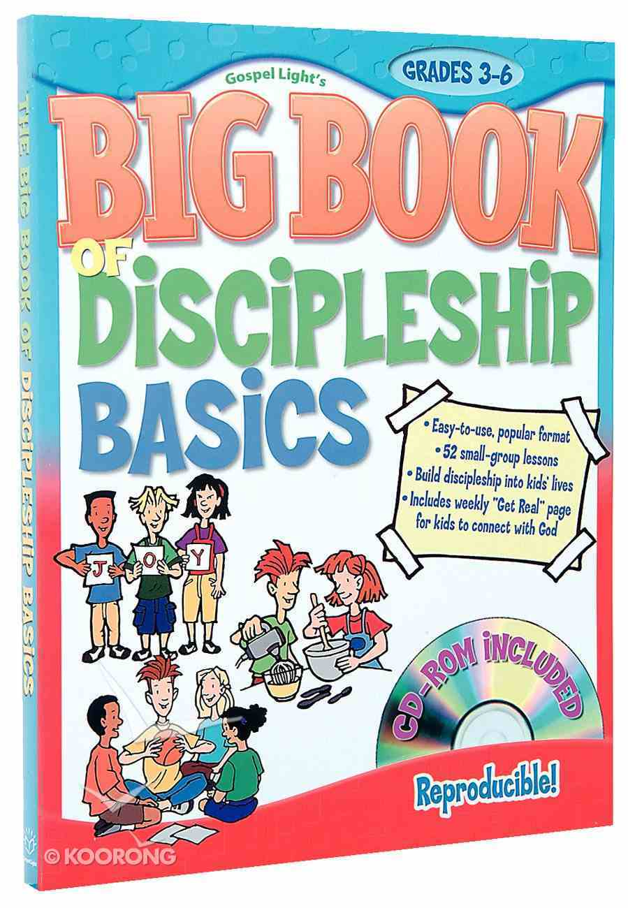 Big Book of Discipleship Basics (With Cd-rom) Paperback