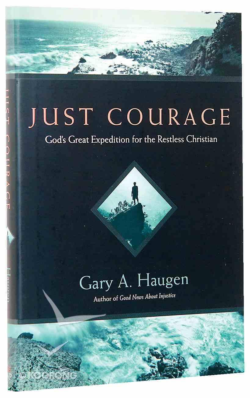 Just Courage Hardback