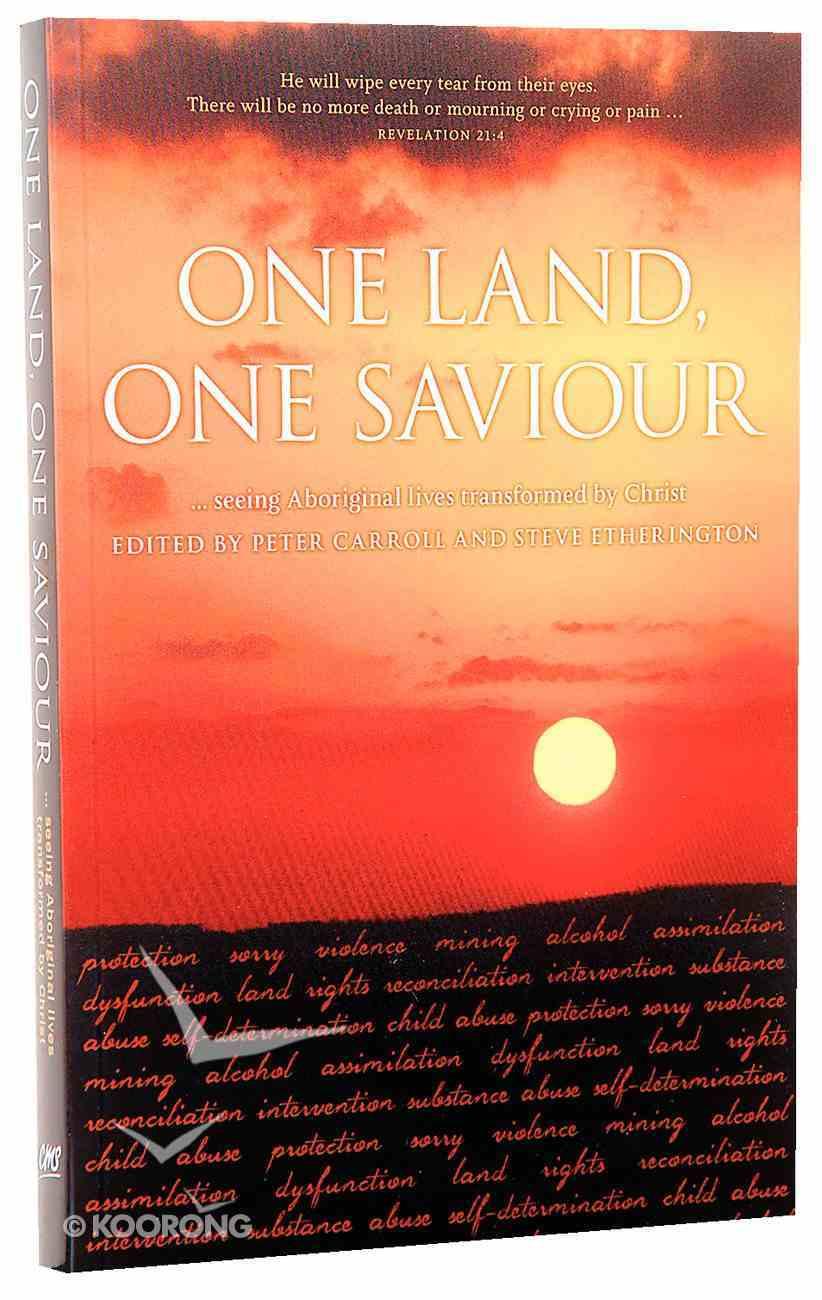 One Land, One Saviour Paperback