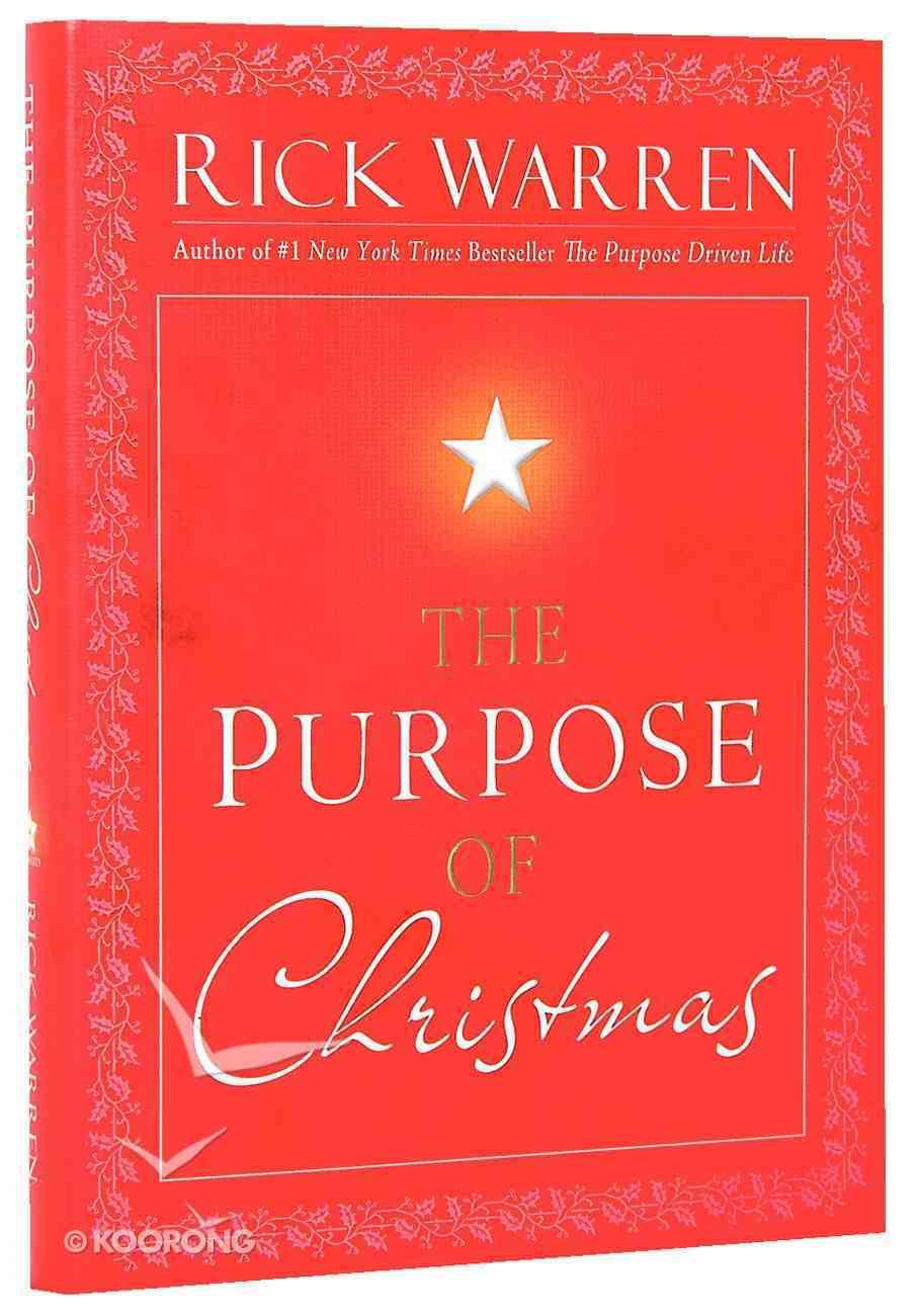 The Purpose of Christmas Hardback